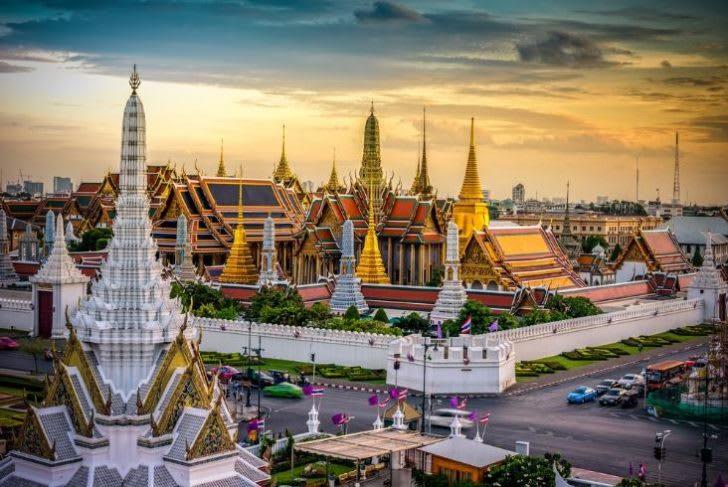 大皇宮(Grand Palace)& 玉佛寺(Wat Phra Kaeo),圖片取自www.matichon.co.th。