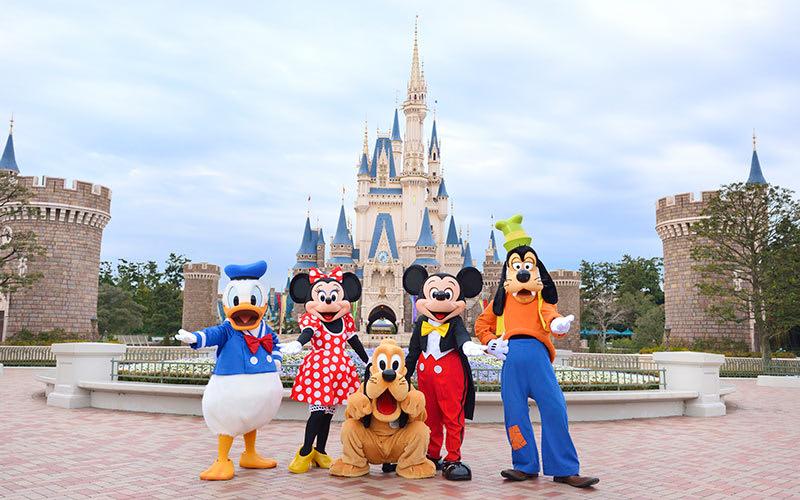 圖片取自東京迪士尼樂園官網。