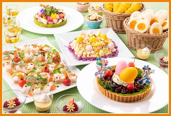 東京迪士尼樂園 復活節限定餐點 來源:迪士尼官網