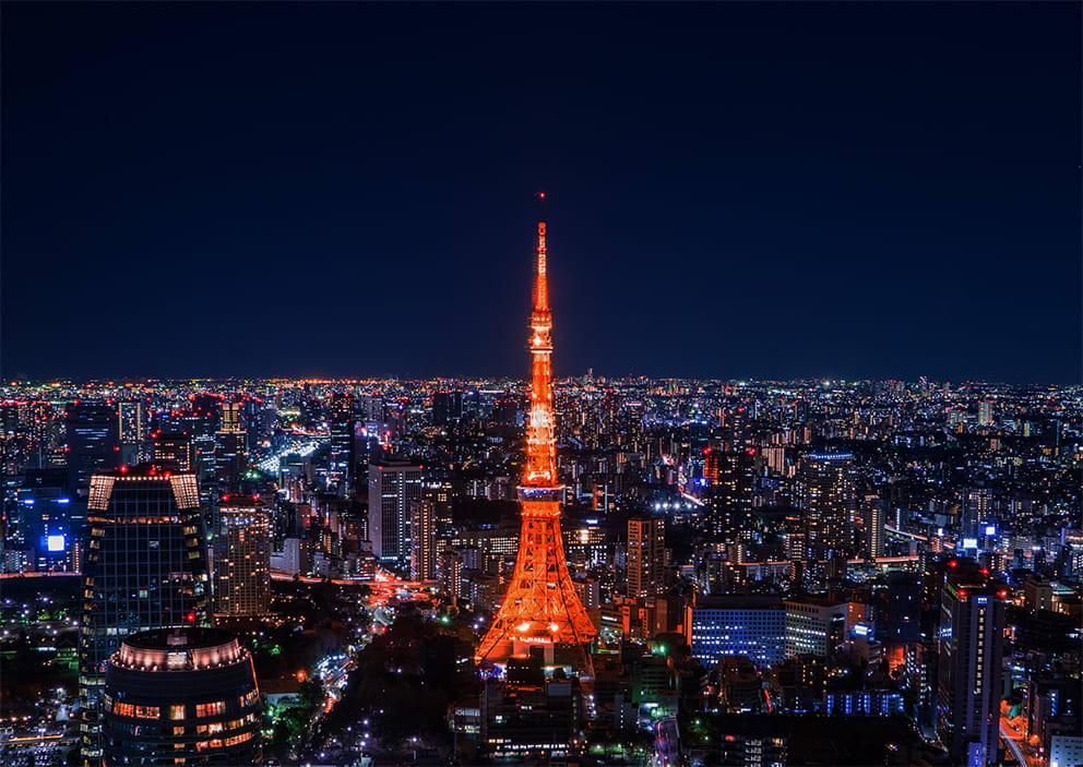 圖片取自東京鐵塔官網。