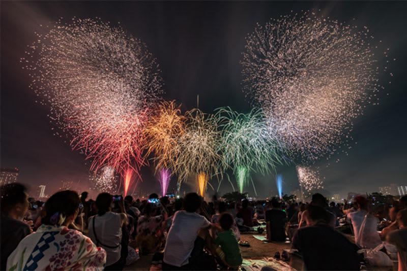 淀川 花火 屋台
