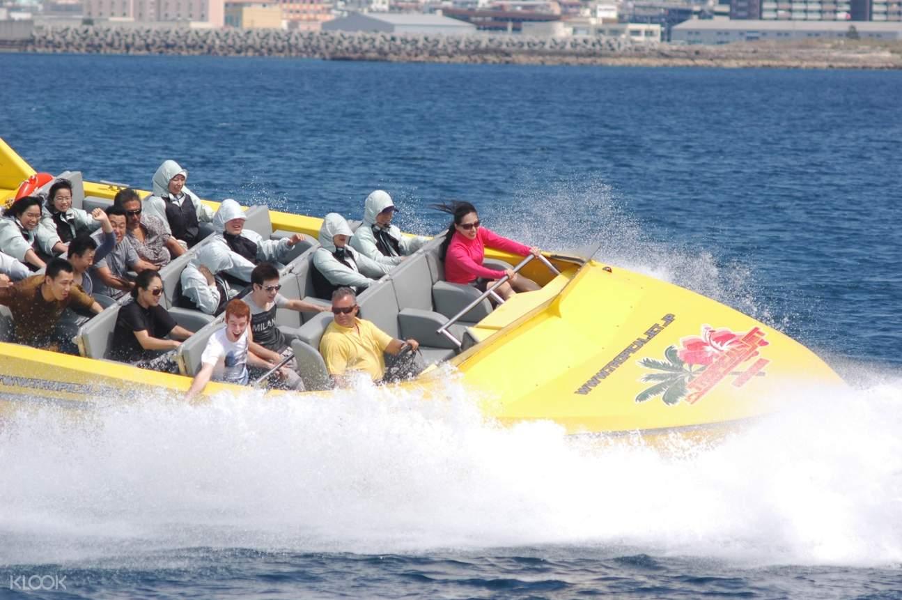 這艘熱帶噴射船是世界上最大的噴射船之一,來乘風破浪吧!