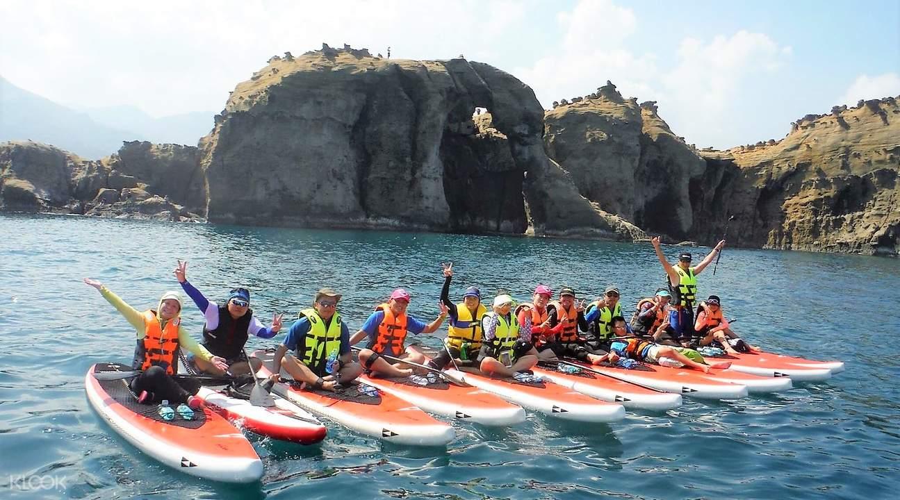 象鼻岩KLOOK的SUP體驗,照片取自KLOOK官網