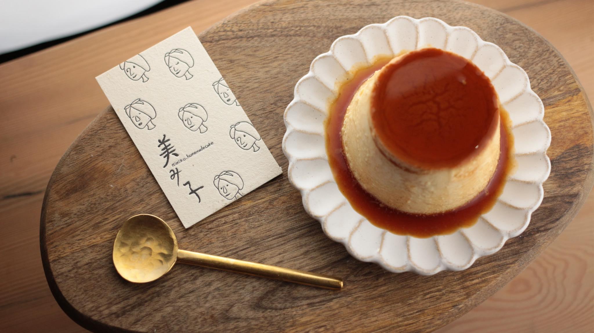 手煮焦糖乳酪布丁,看了口水直流!(圖片取自美美子みみこ homemade cake官方FB粉絲團)