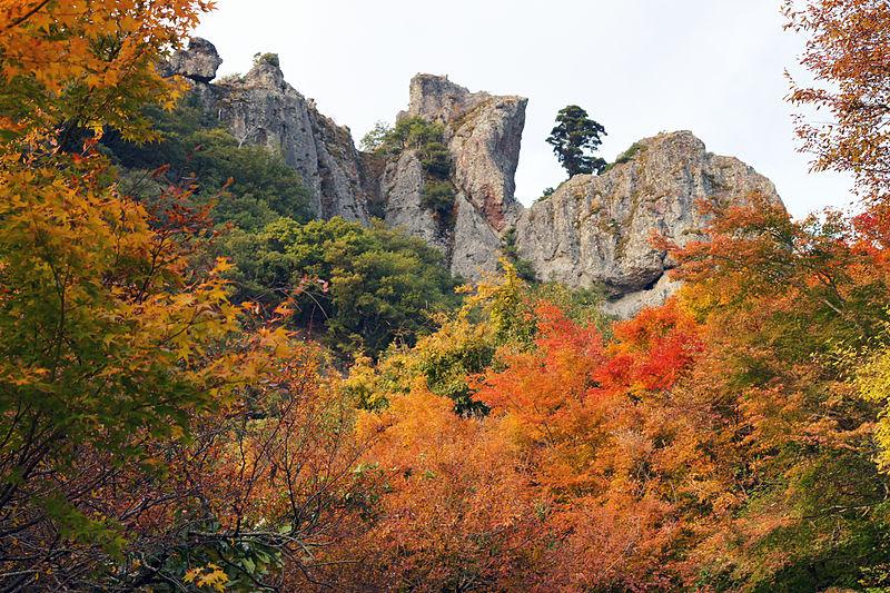 寒霞溪|圖片來源:維基百科 https://reurl.cc/WZMn9
