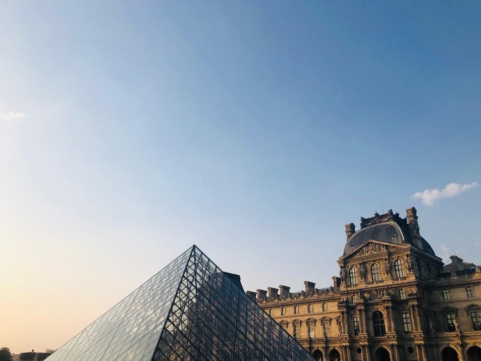 巴黎羅浮宮 | PC: Zach