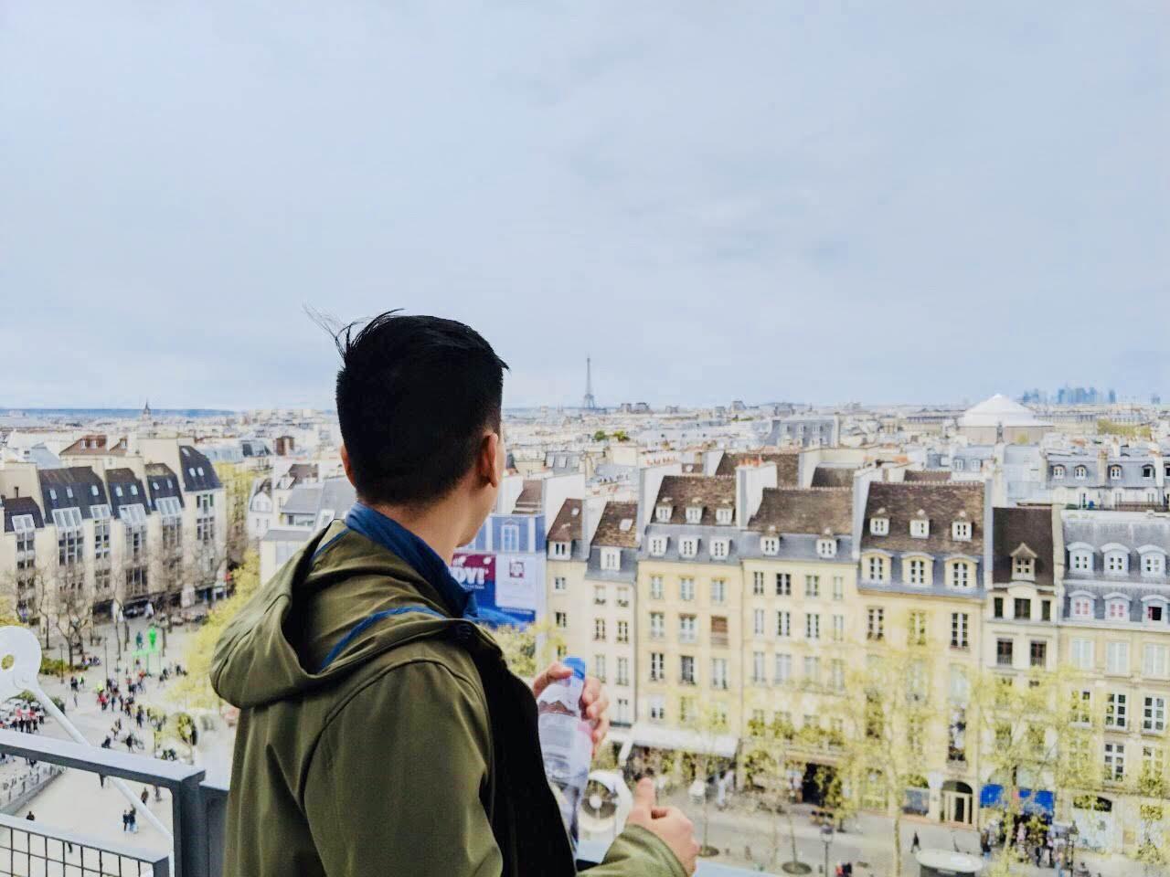 隱藏版巴黎市景拍照點| PC: Zach