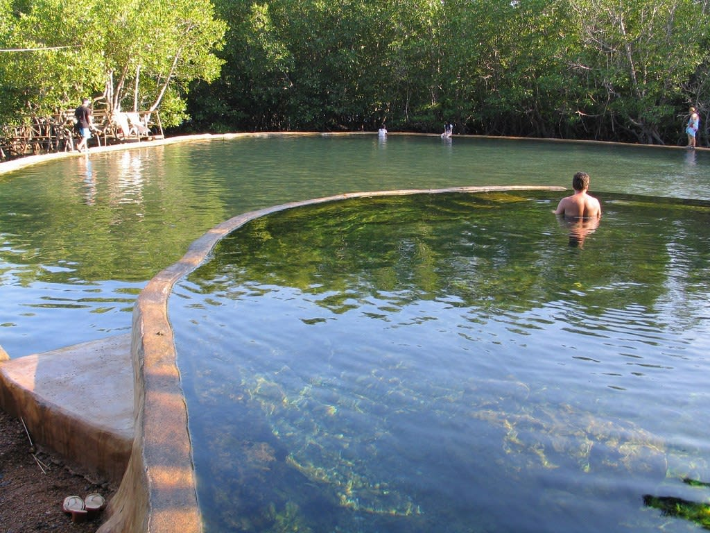 圖片取自https://outoftownblog.com/maquinit-hot-springs-in-coron-palawan/