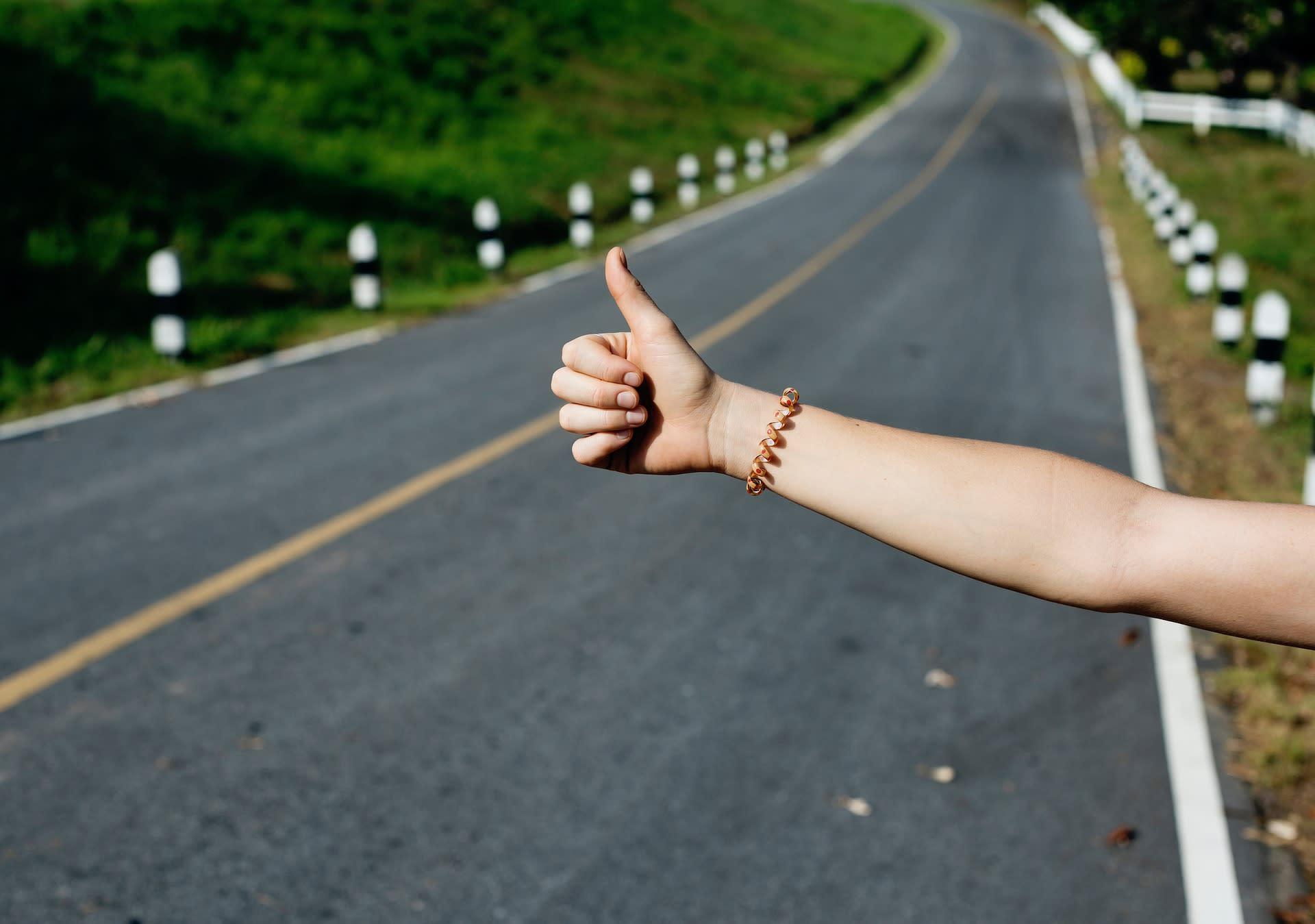 搭便車-旅行-自由行