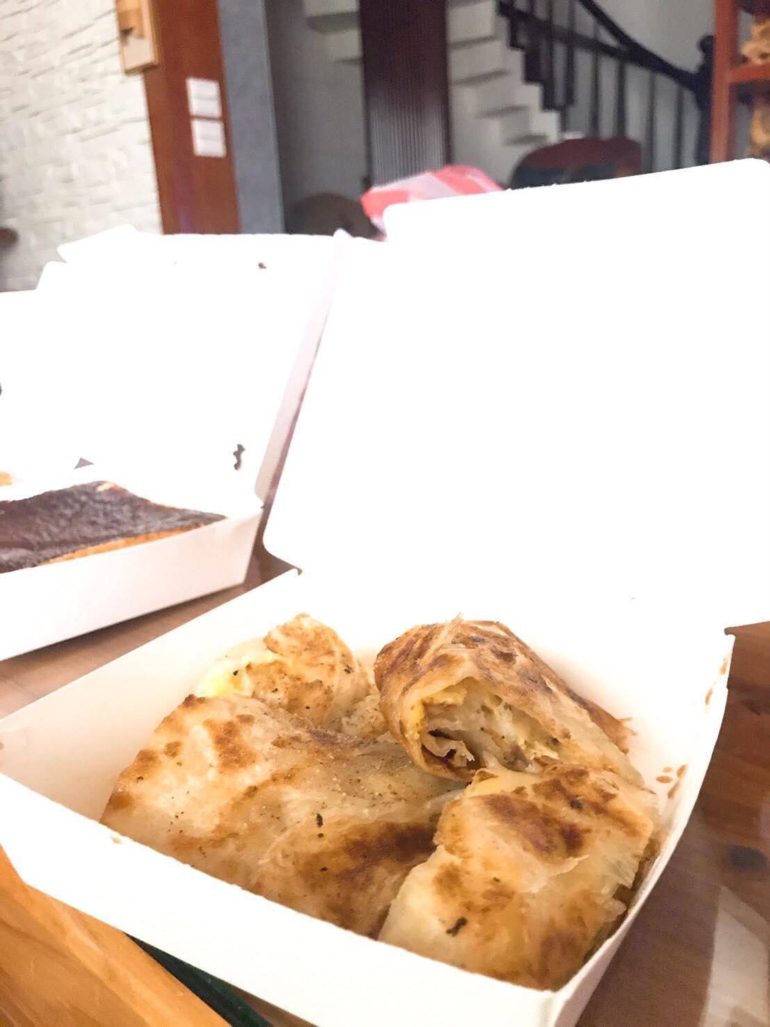 薯泥蛋餅,35元。