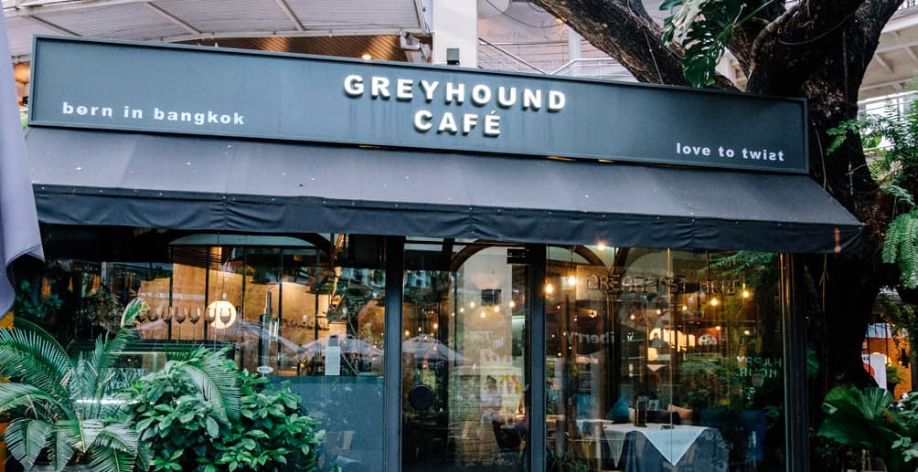 Greyhound 特色殖民南洋風分店 | PC:Greyhound Cafe 官網