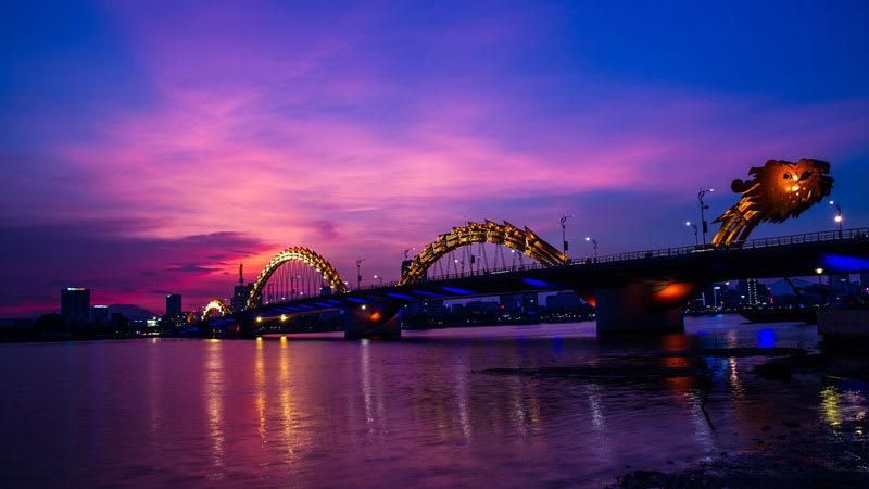 峴港自由行-龍橋