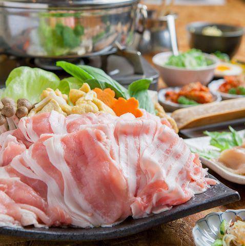 京都美食 しゃぶしゃぶ食べ放題 豚しゃぶ英 京都四条烏丸本店