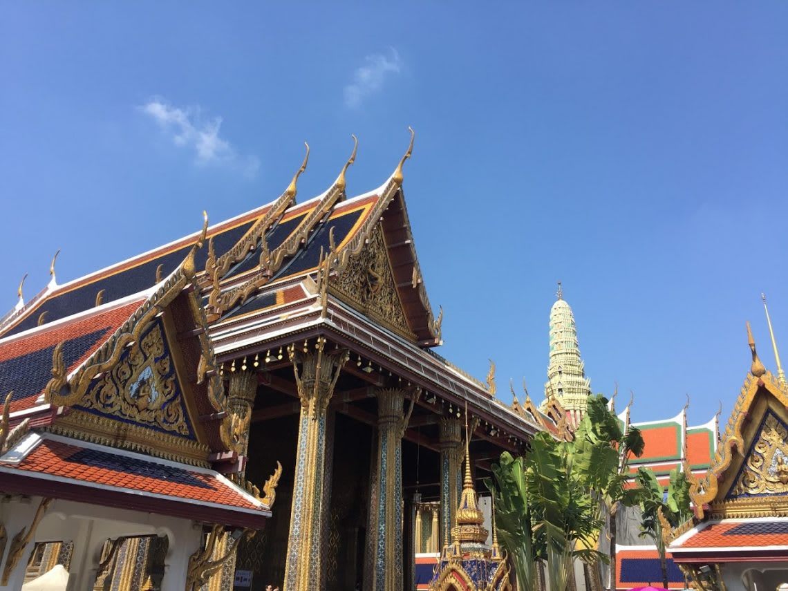 1月的曼谷,整天的好天氣