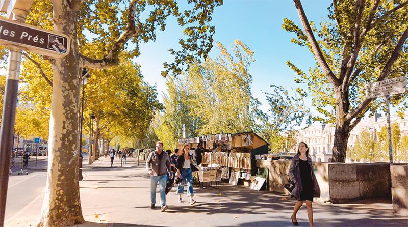 巴黎左岸是文青的巴黎必訪景點