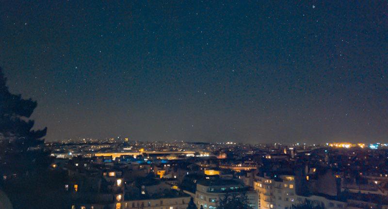 聖心堂看巴黎夜景