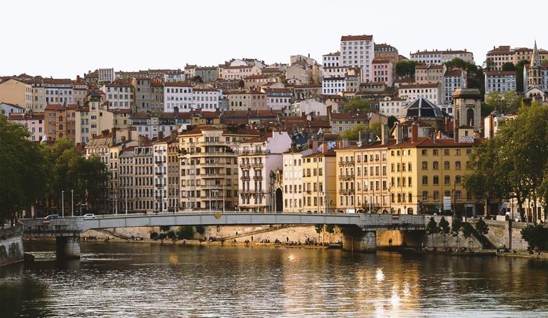 法國里昂市景