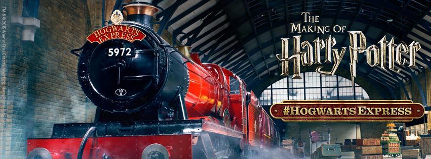 9&3/4月台(圖片來源: Harry Potter製片廠FB粉專)