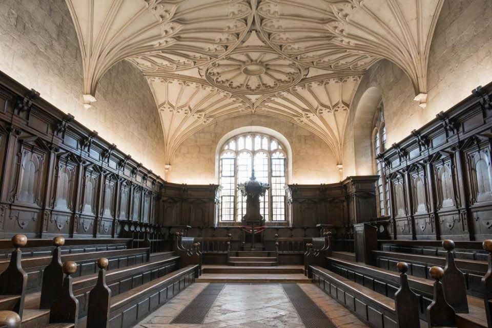哈利波特-取景-Bodleian圖書館