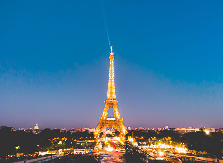 艾菲爾鐵塔燈光秀