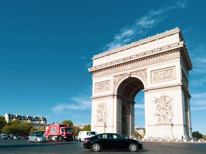 巴黎知名景點凱旋門