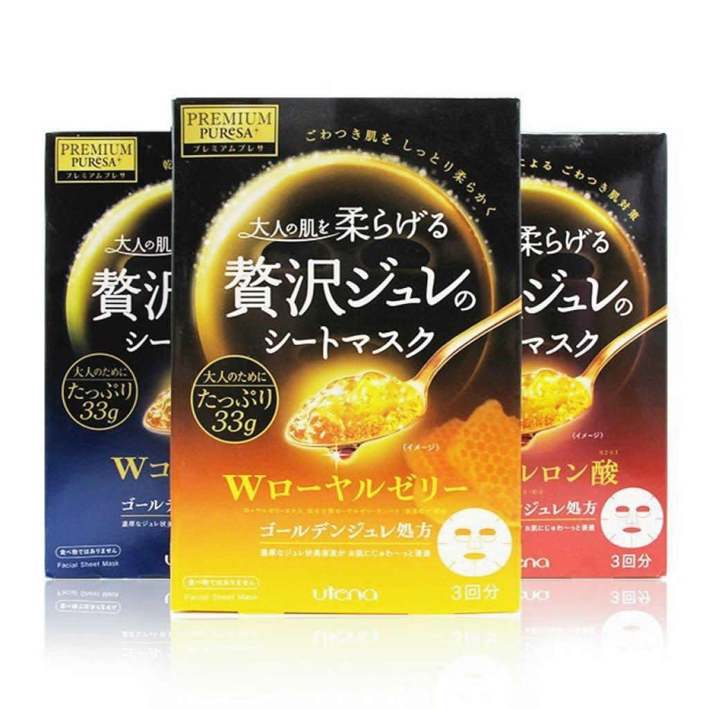 日本必買 精華液面膜