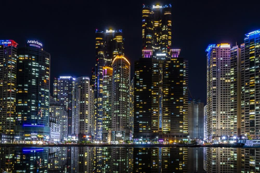 The bay 101是韓國釜山最著名的夜景景點