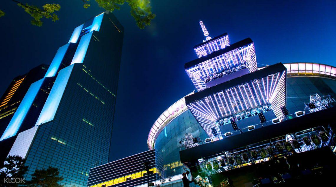 韓國跨年 搭配夜景
