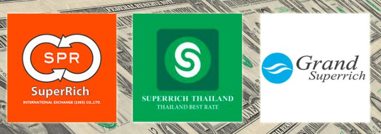Superrich集團底下的三個品牌 | 圖片來源:Taokaemai