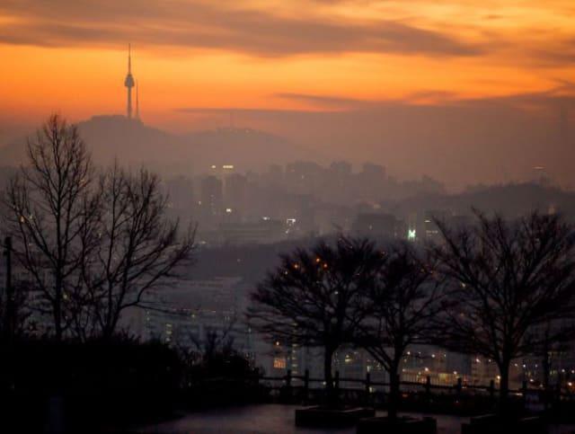 韓國跨年 完的第一道曙光在天空公園