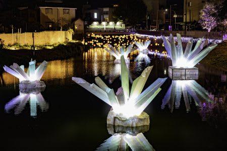 月津港 燈飾