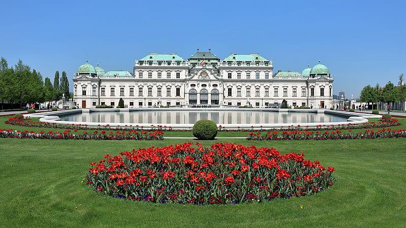 """美景宮。圖片來源:<a href=""""https://commons.wikimedia.org/wiki/File:Wien_-_Schloss_Belvedere,_oberes_(2).JPG"""" target=""""_blank"""" rel=""""noopener noreferrer"""">Wikimedia Commons / Bwag</a>"""