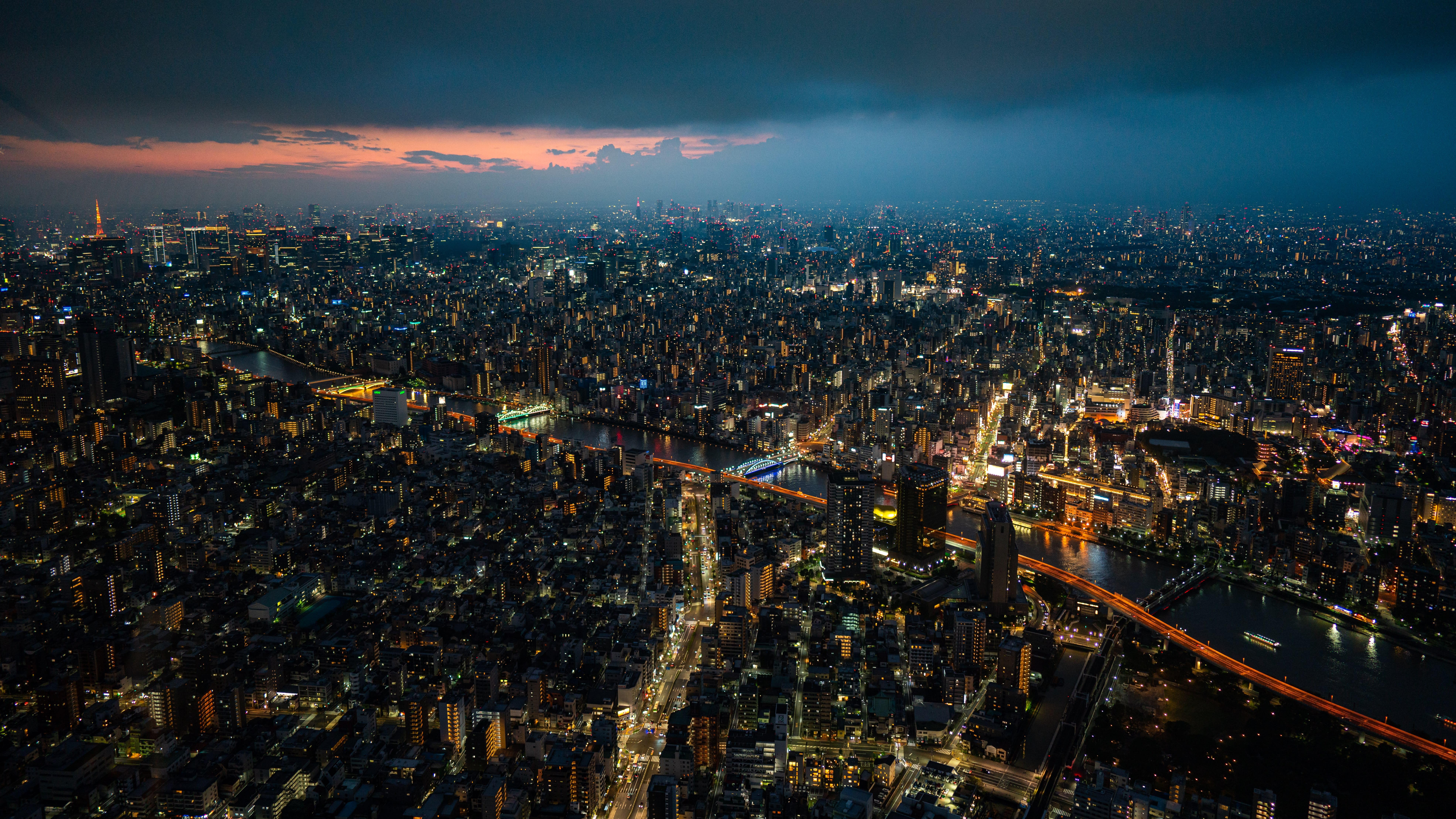 晴空塔展望台 夜景