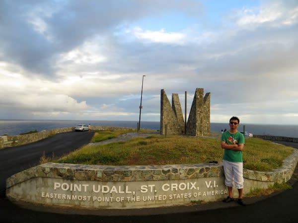 Udall Point: 美 國 領 土 中 最 東 邊 的 地 方 。