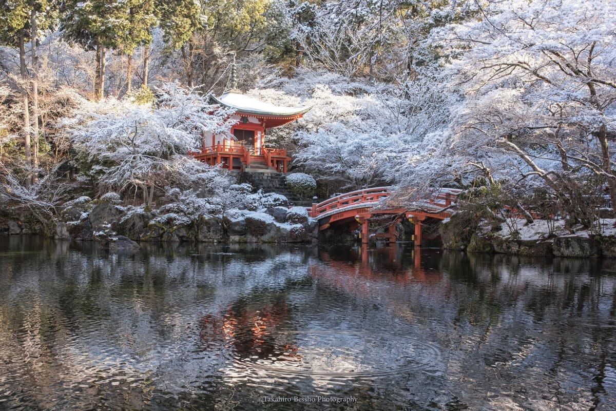 2018京都下雪