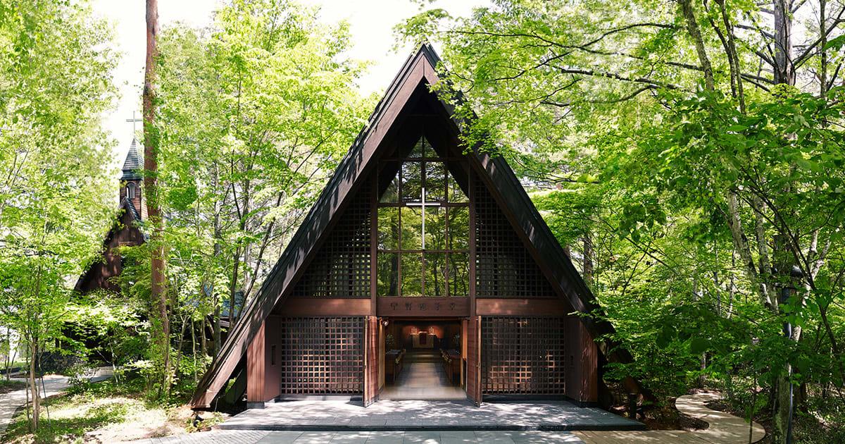 高原教堂。|來源:ameblo.jp