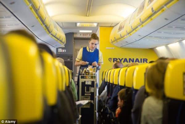 瑞 安 航 空 。