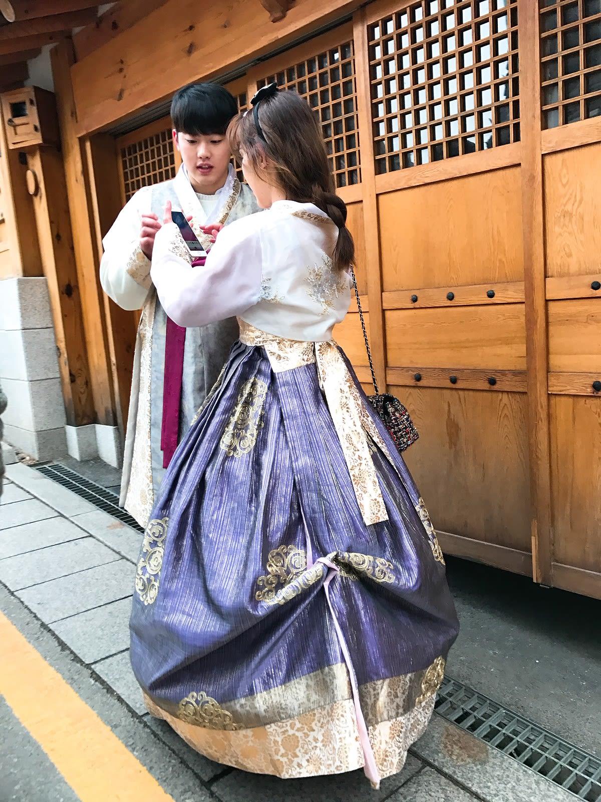 第一次去韓國