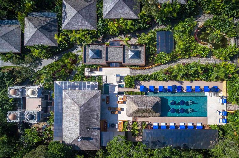 Trip Advisor 2016 & 2017世界頂級奢華酒店No.1的「Nayara Springs Hotel」(照片來源:Nayara Springs Hotel官網https://goo.gl/JWZc93)