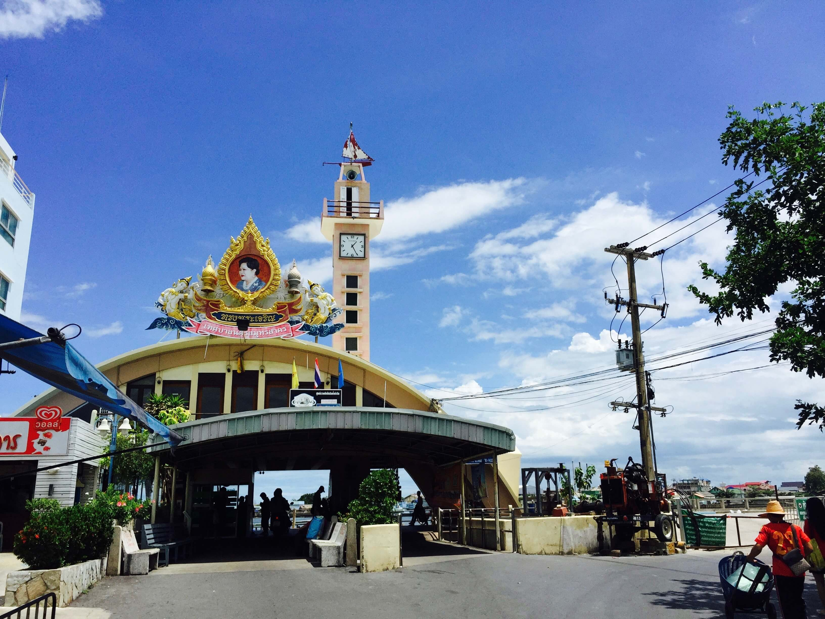 馬哈猜漁港