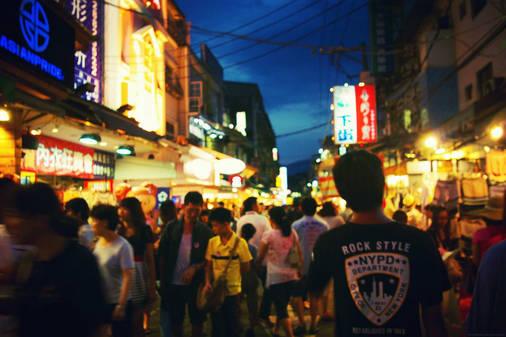 延三夜市 P H O T O | flickr CC editor Stephanie Chiu