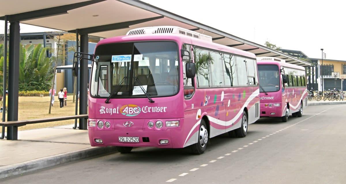 河內機場到市區 : Mini Bus