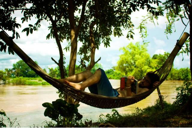 島 上 的 娛 樂 : 吊 床 |flickr@oceanos