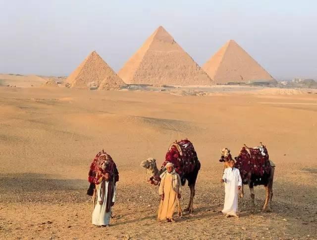 古 夫 金 字 塔 。
