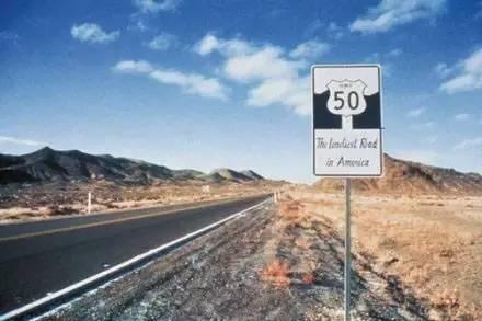 美 國 5 0 號 公 路 。