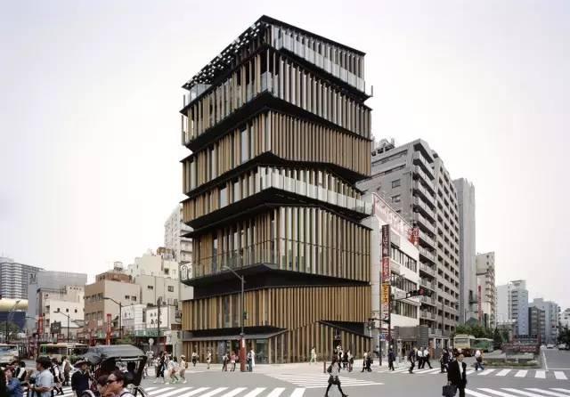 日本建築師隈研吾的作品。