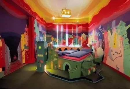 也 有 溫 馨 的 童 話 故 事 房 型