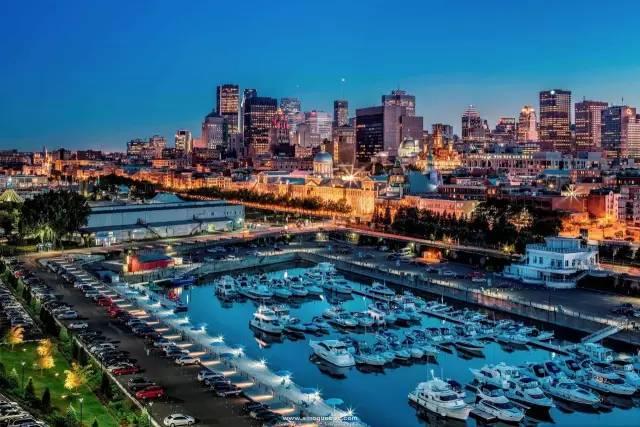 最 適 合 人 居 住 城 市 蒙 特 婁 。