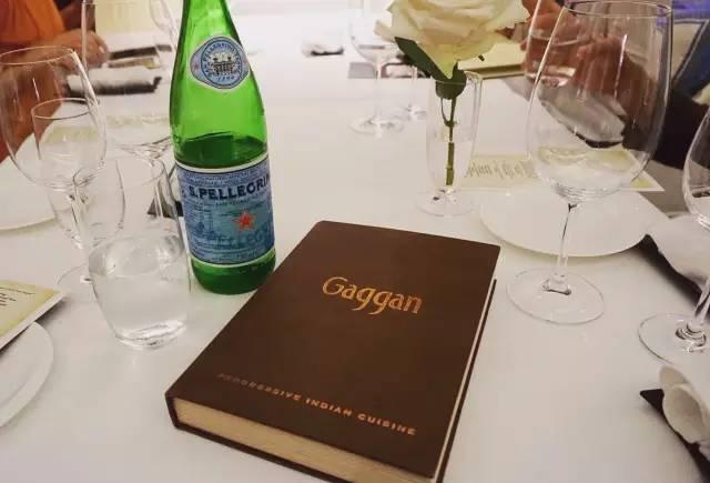 Gaggan菜單。