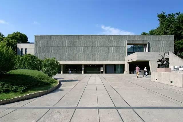 上野國立西洋美術館。